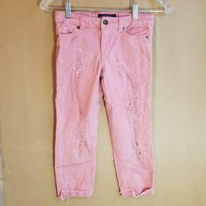 Girls lucky capri pants